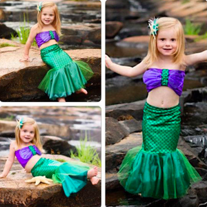 The Little Mermaid Outfit by Elsewhereshop