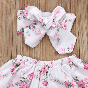 Pinky Floral Set