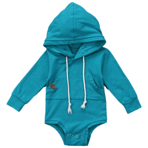 Toni Hooded Romper by Elsewhereshop