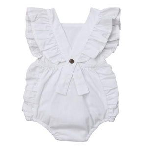 Abby Ruffle Romper by Elsewhereshop