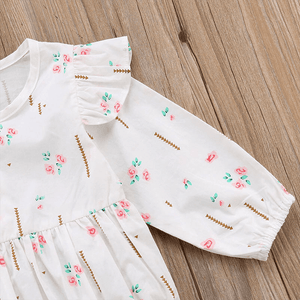 Abegail Floral Romper by Elsewhereshop