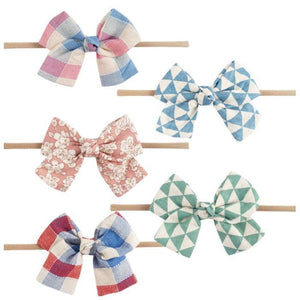 Abigail Bow Headband (5pcs) by Elsewhereshop