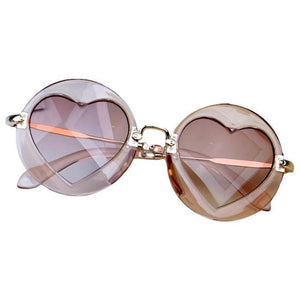 Alondra Tea Hearts Sunglasses by Elsewhereshop