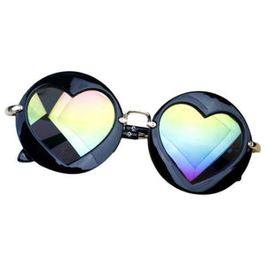 Alondra Silver Hearts Sunglasses by Elsewhereshop
