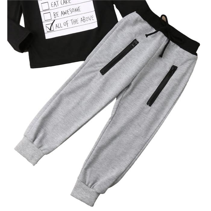 Alvin Sweatshirt and Pants Set