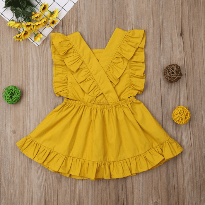 Andreaka Ruffle Dress by Elsewhereshop