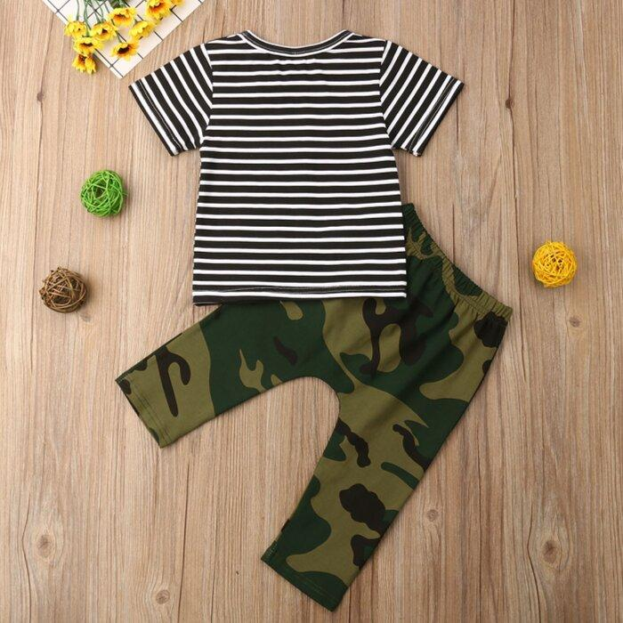 Andrei Stripes and Camo Set by Elsewhereshop