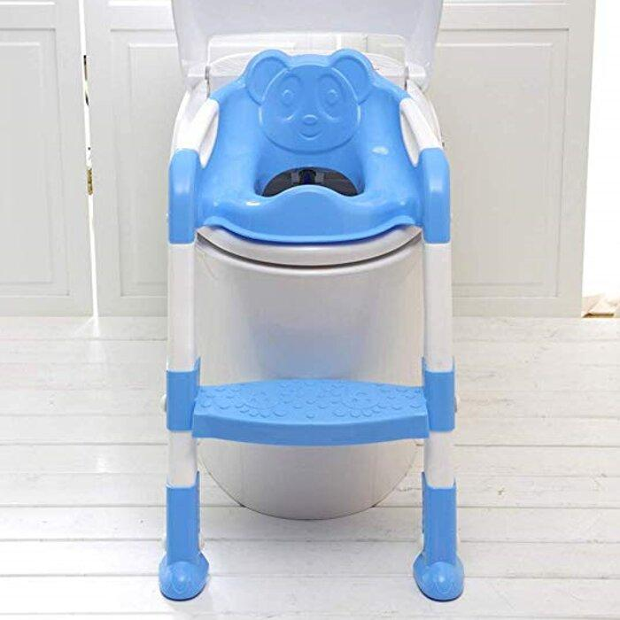 Anton Baby Potty Training Seat With Ladder by Elsewhereshop