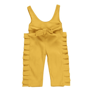 Arianne Mustard Jumpsuit by Elsewhereshop