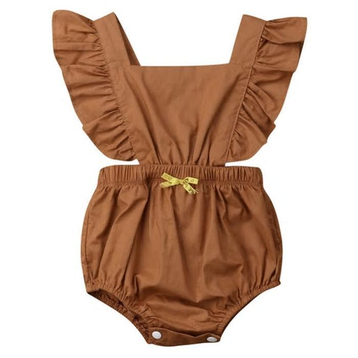Bettina Backless Romper by Elsewhereshop
