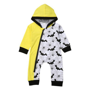 Bevan Spidy Hooded Jumpsuit by Elsewhereshop