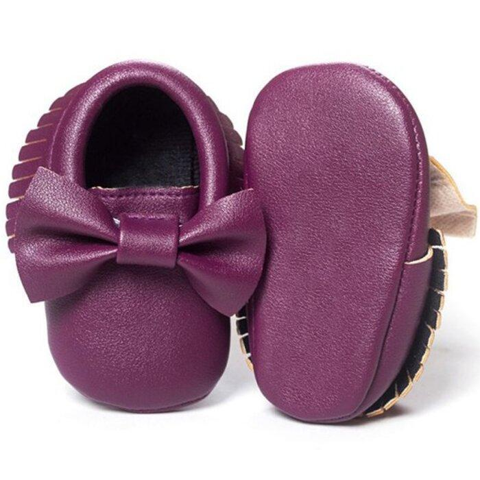 Bow Tie Moccasin by Elsewhereshop