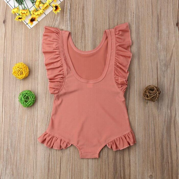 Bryony Ruffle Swimsuit by Elsewhereshop