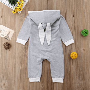Bunny Hooded Jumpsuit by Elsewhereshop