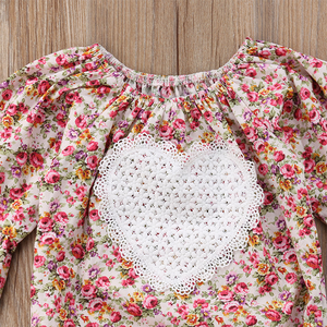 Trisha Floral Romper by Elsewhereshop
