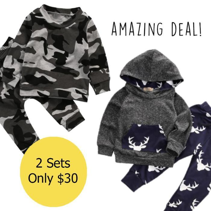 Deer Hooded Set + Camouflage Set