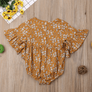 Carina Floral Romper by Elsewhereshop