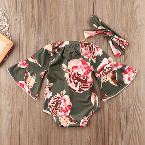 Carmen Floral Set by Elsewhereshop