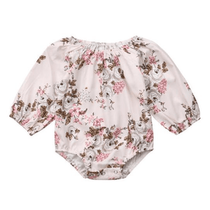 Carmie Floral Romper by Elsewhereshop