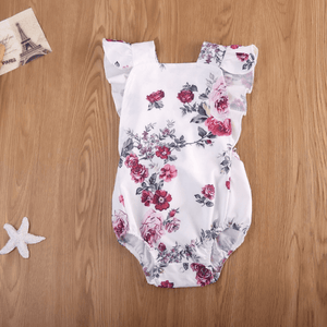 Martina Floral Romper by Elsewhereshop