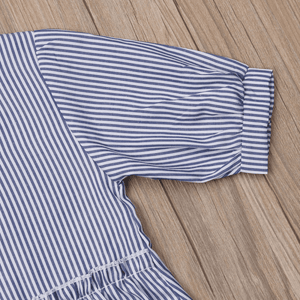Charlotte Stripes Dress by Elsewhereshop