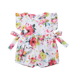 Clara Ruffled Romper by Elsewhereshop