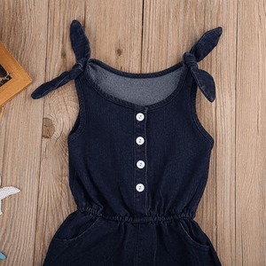 Riley Denim Romper by Elsewhereshop