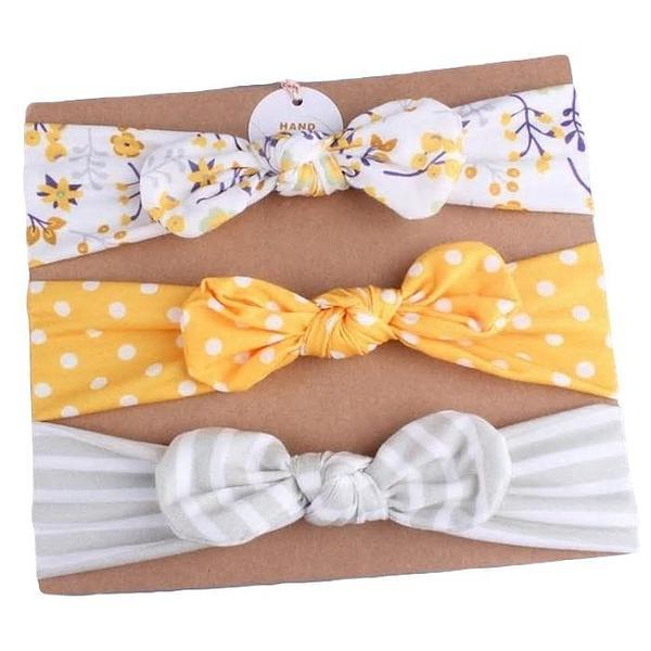 Daria Bow Headband Set by Elsewhereshop