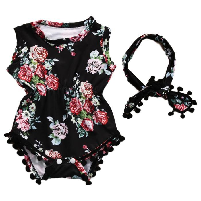 Dark Floral Set by Elsewhereshop