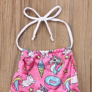 Unicorn & Donuts Swimsuit