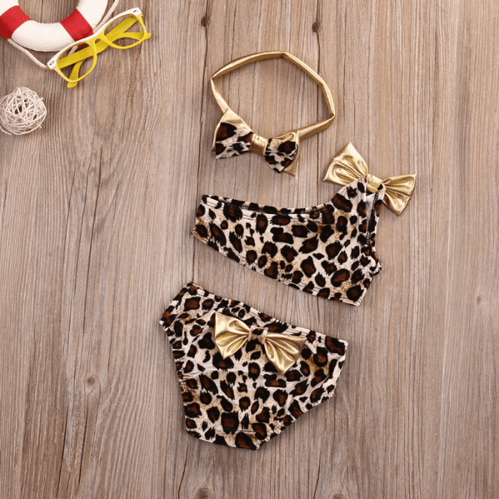 Leopard Bikini Set by Elsewhereshop