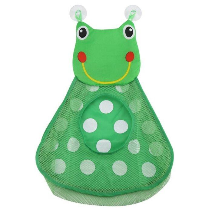 Duck and Frog Bath Toy Organizer by Elsewhereshop