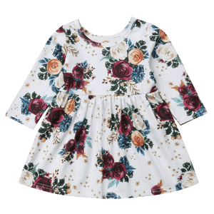 Erika Floral Dress by Elsewhereshop