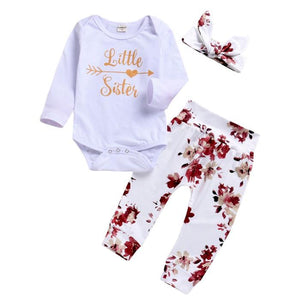 Flora Little Sister Set by Elsewhereshop