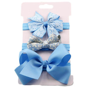 Flower and Bow Headband by Elsewhereshop