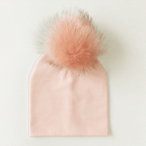 Gail Fur Ball Hat by Elsewhereshop