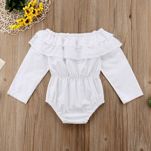 Gracie Long Sleeve Romper by Elsewhereshop