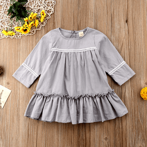 Griselda Ruffled Dress by Elsewhereshop