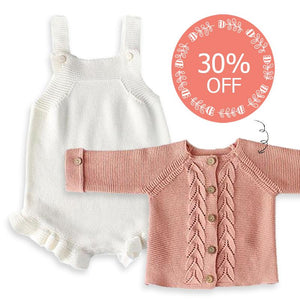 Halsey Knitted Romper + 30% OFF Cardigan