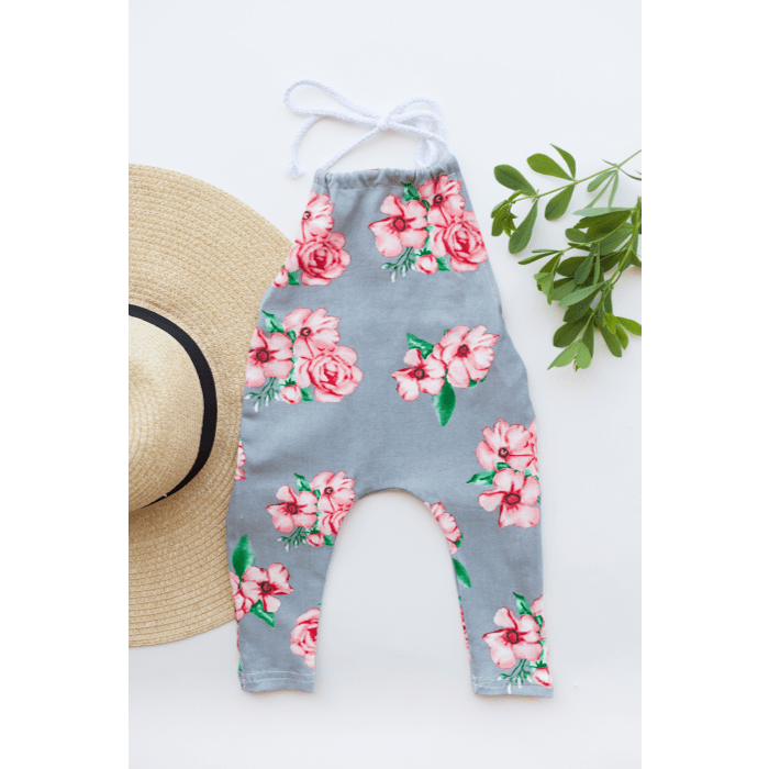 Haltered Floral Jumpsuit by Elsewhereshop
