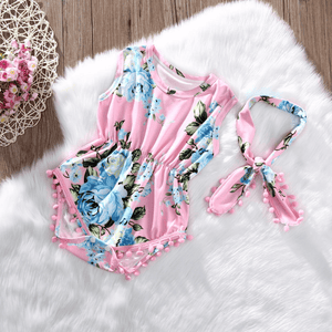 Hazel Floral Romper Set by Elsewhereshop