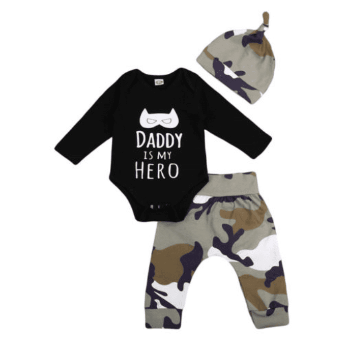 Hero Daddy Camo Set