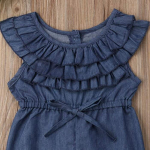 Jade Ruffled Denim by Elsewhereshop