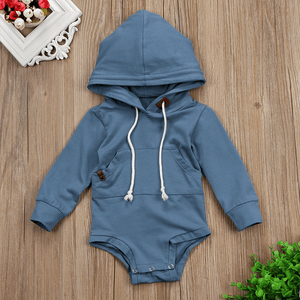 Jake Hooded Romper by Elsewhereshop