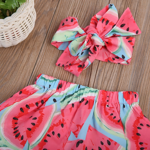 Jamaica Watermelon Set by Elsewhereshop