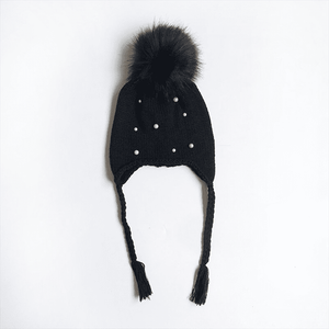 Kieth Fur Ball Hat by Elsewhereshop