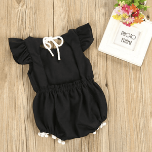 Jeline Lace Romper by Elsewhereshop