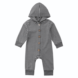 Justin Stripes Jumpsuit by Elsewhereshop