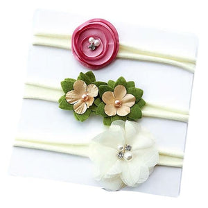 Kaori Floral Headband (3pcs) by Elsewhereshop
