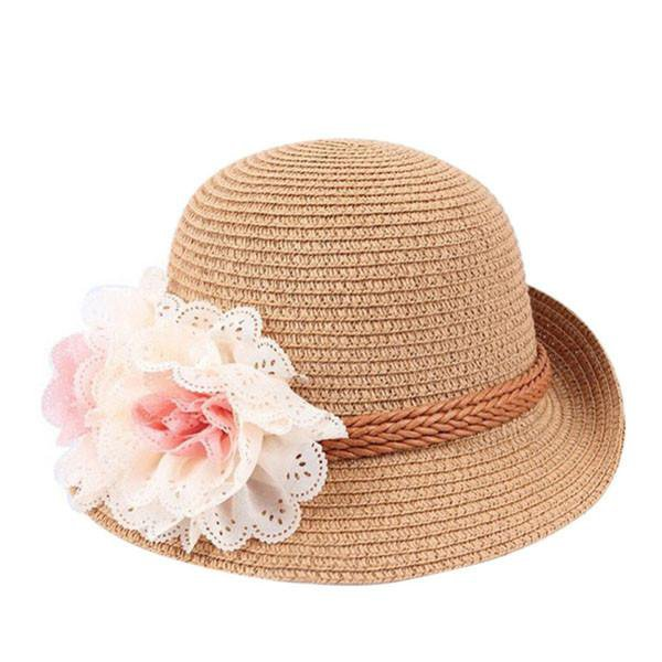 Flower Beach Hat